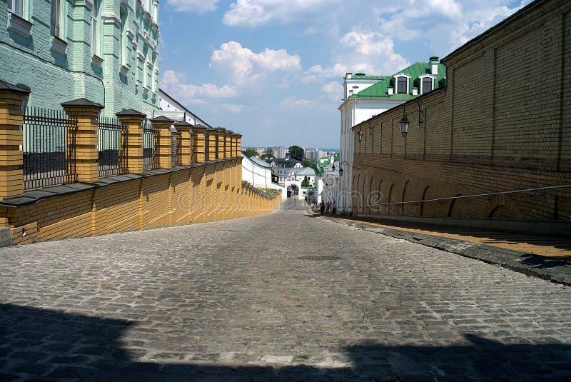 Architectuur van de Oekraïne De stad van Kyiv royalty-vrije stock foto