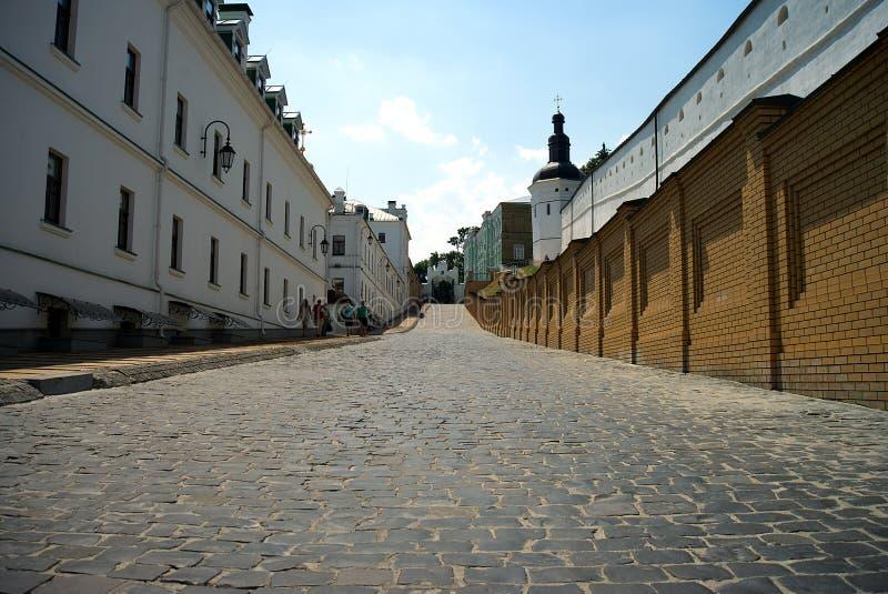 Architectuur van de Oekraïne De stad van Kyiv stock afbeelding