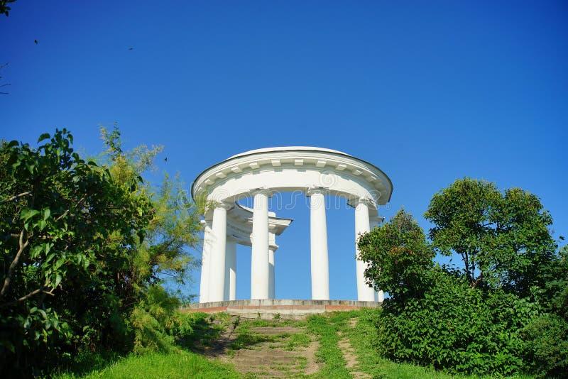 Architectuur van de Oekraïne De stad van Poltava stock afbeeldingen