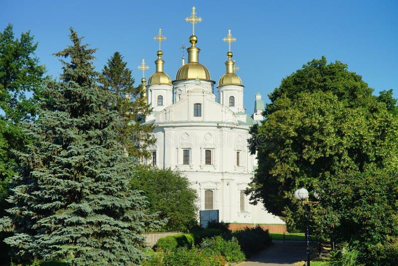Architectuur van de Oekraïne De stad van Poltava royalty-vrije stock foto