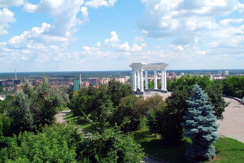 Architectuur van de Oekraïne De stad van Poltava royalty-vrije stock afbeeldingen