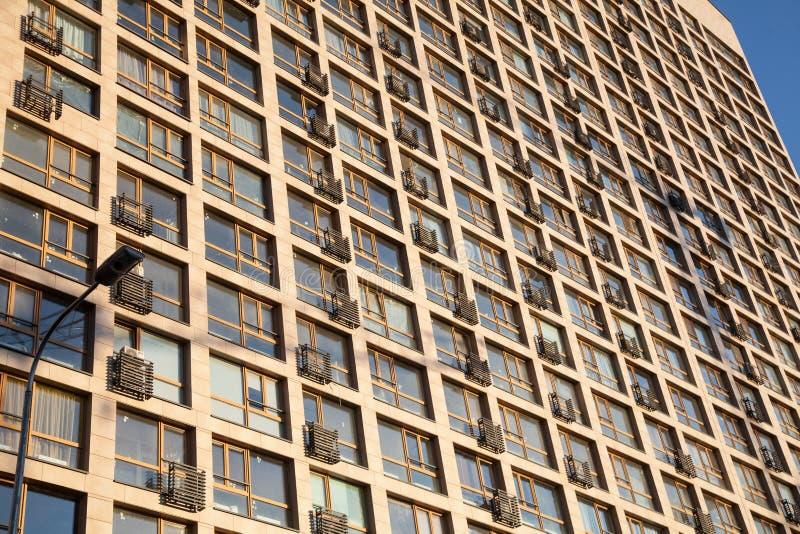 Architectuur van de stad stock foto