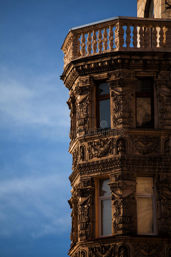 Architectuur van de stad stock foto's