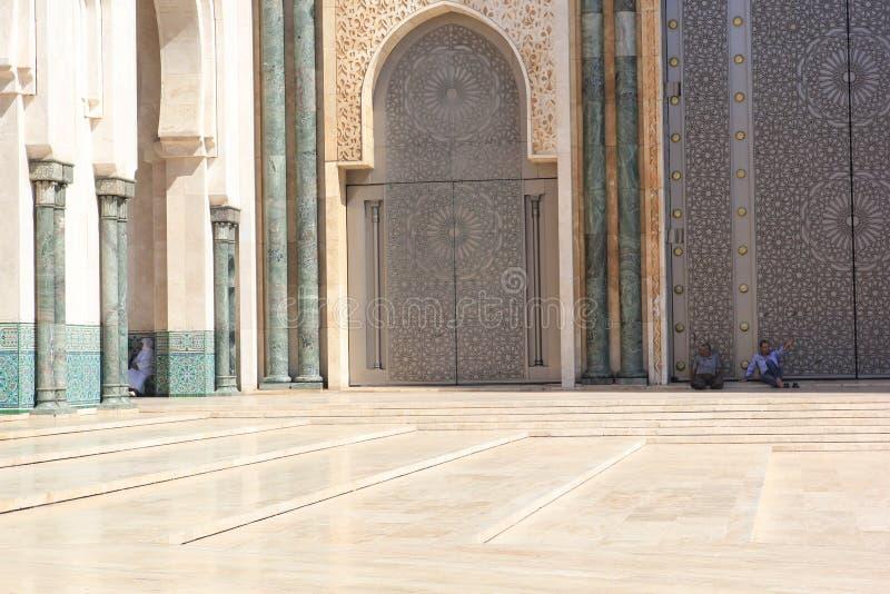 Architectuur van de stad van Casablanca, Marokko y S royalty-vrije stock foto's