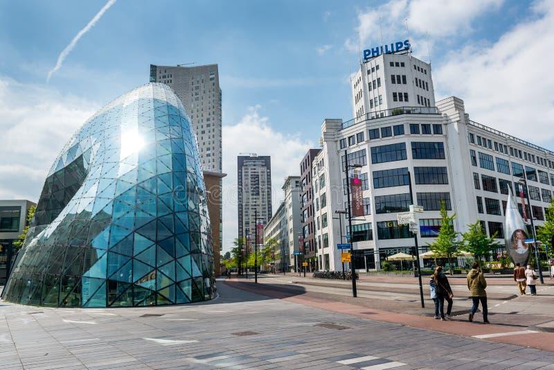 Architectuur van Eindhoven royalty-vrije stock afbeeldingen