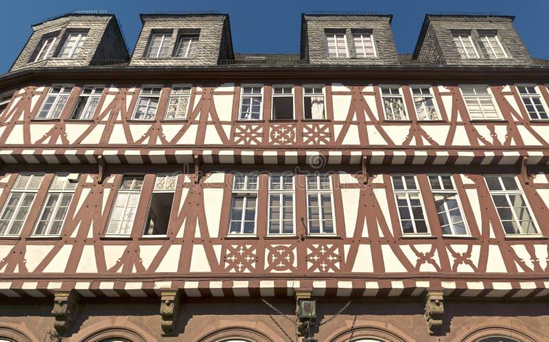 Architectuur van historische Roemer-plaats royalty-vrije stock afbeelding