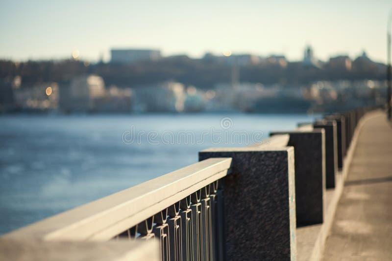 Architectuur van Kiev stock foto's