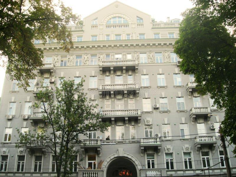 Architectuur van Kiev stock afbeelding