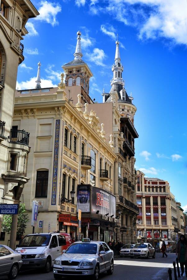 Architectuur van Madrid, Spanje royalty-vrije stock foto's