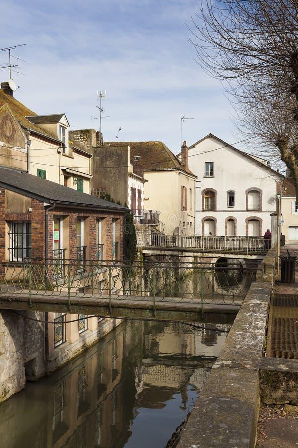 Architectuur van Montargis royalty-vrije stock foto