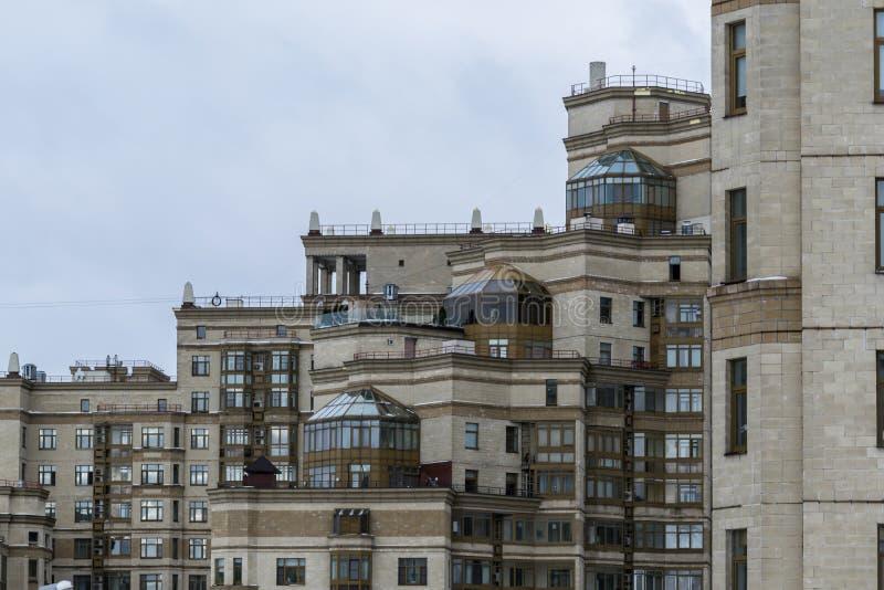 Architectuur van Moskou royalty-vrije stock fotografie