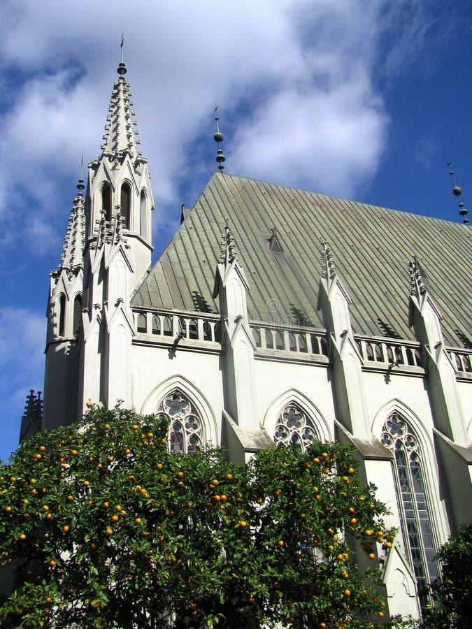 Architectuur van Novo Hamburgo, Brazilië royalty-vrije stock afbeeldingen