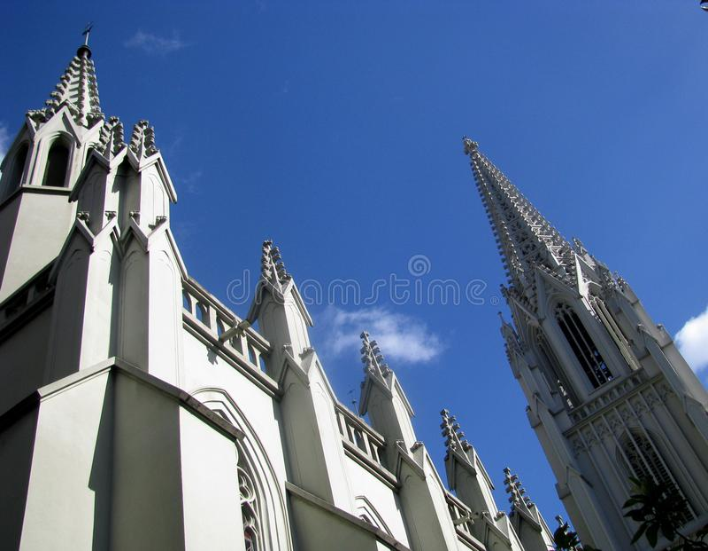 Architectuur van Novo Hamburgo, Brazilië royalty-vrije stock fotografie