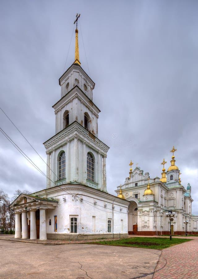 Architectuur van Poltava. De Oekraïne. royalty-vrije stock afbeeldingen