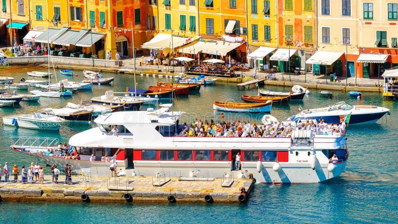 Architectuur van Portofino, Italië stock fotografie