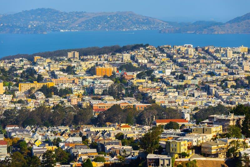 Architectuur van San Francisco, de V.S. stock afbeelding