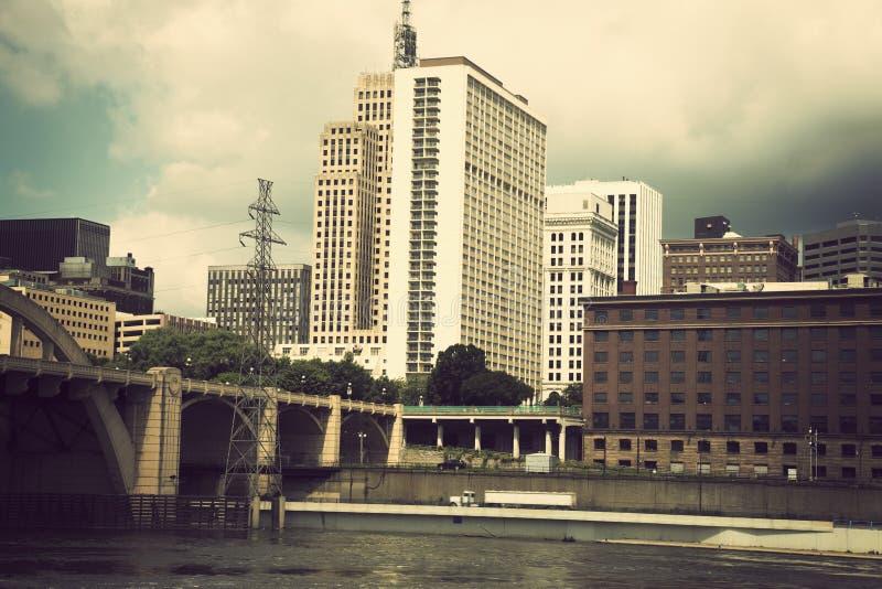 Architectuur van St. Paul, Minnesota royalty-vrije stock fotografie