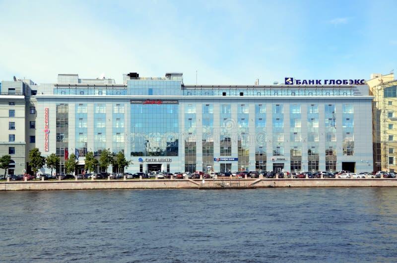Architectuur van St. Petersburg stock foto