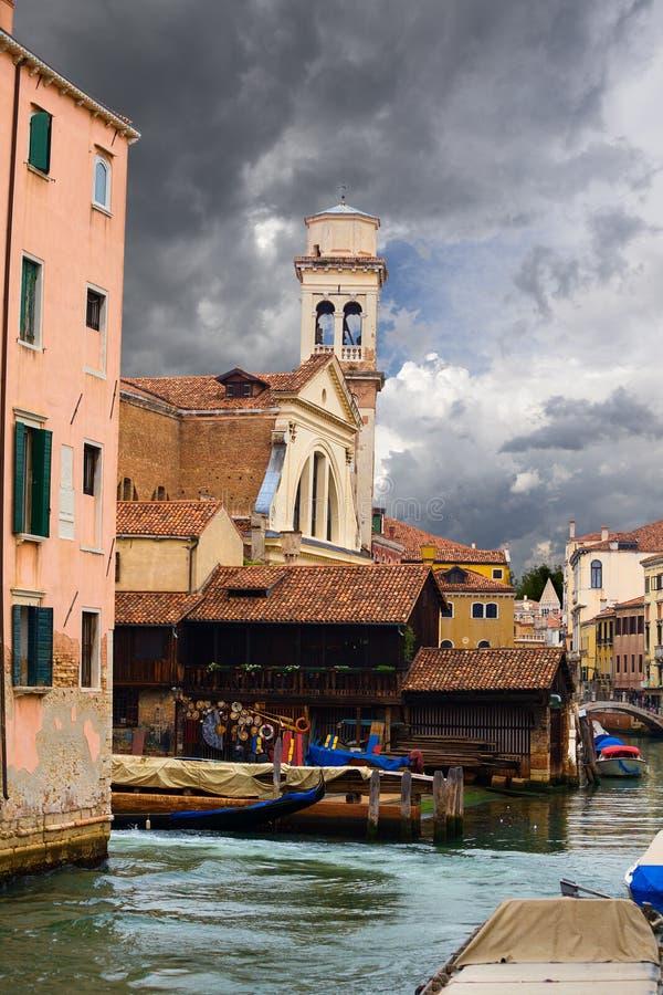 Architectuur van Venetië Italië stock foto