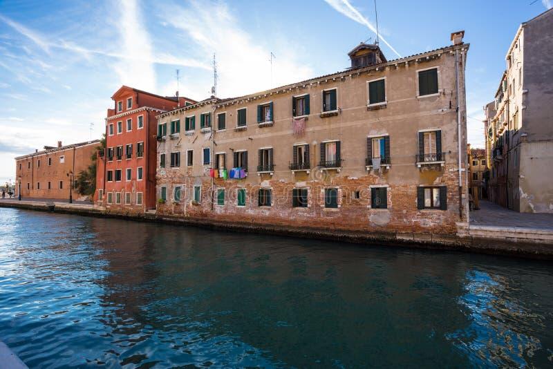 Architectuur van Venetië Italië stock afbeeldingen