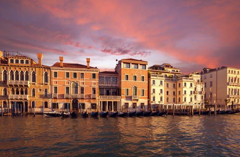 Architectuur van Venetië Italië royalty-vrije stock afbeeldingen