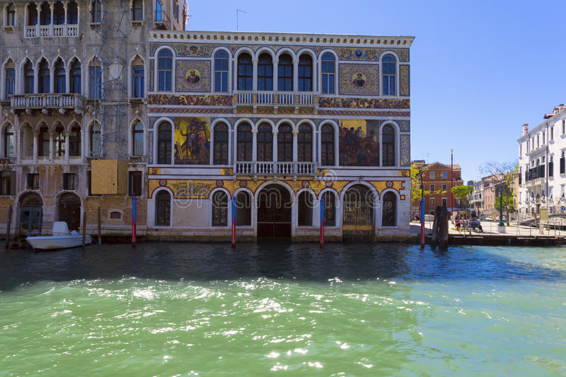Architectuur van Venetië Italië stock fotografie