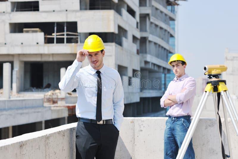 architektów construciton miejsca drużyna obraz stock