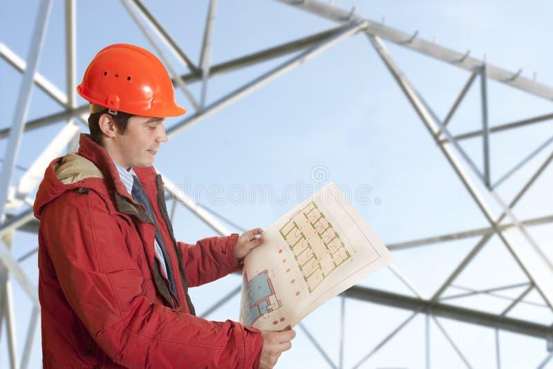architektów mężczyzna zdjęcie stock