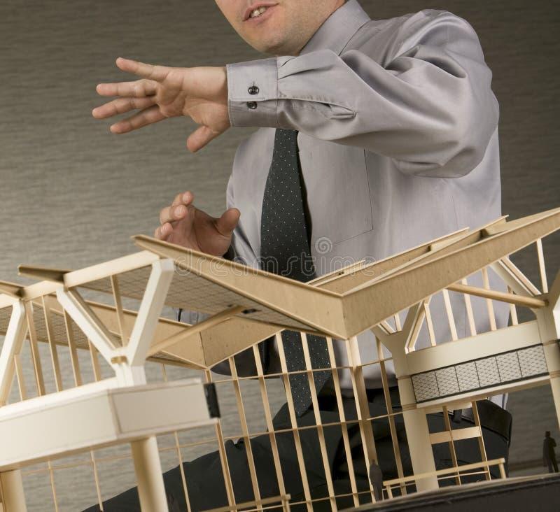 Architekt stockfoto