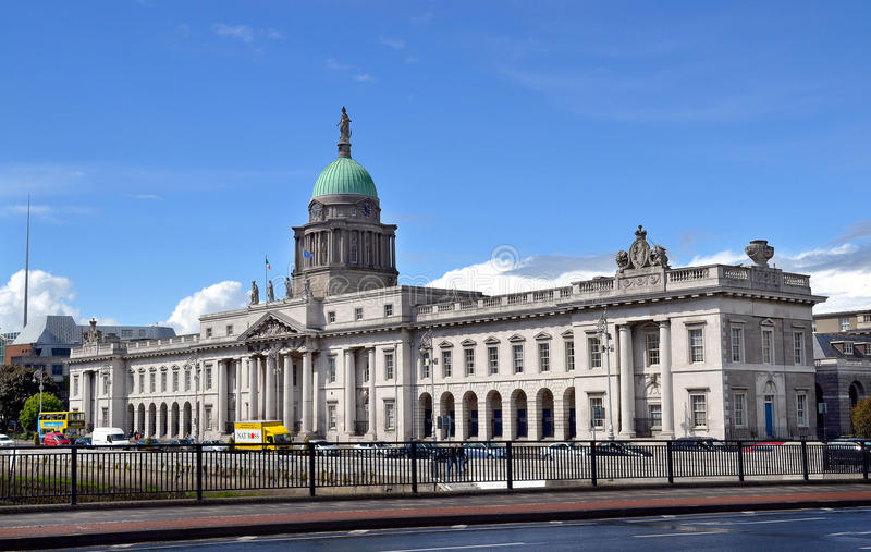 1791 architekt budująca obyczajowa Dublin gandon domu Ireland James republika był obraz royalty free