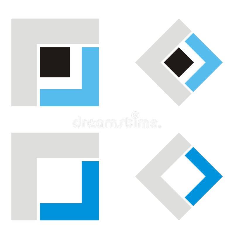 architekta firmy logo royalty ilustracja