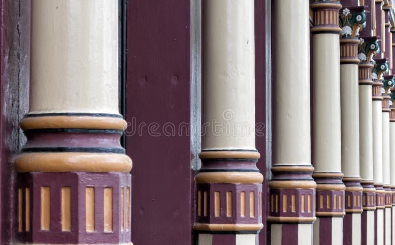 Architektoniczne kolumny zdjęcia stock