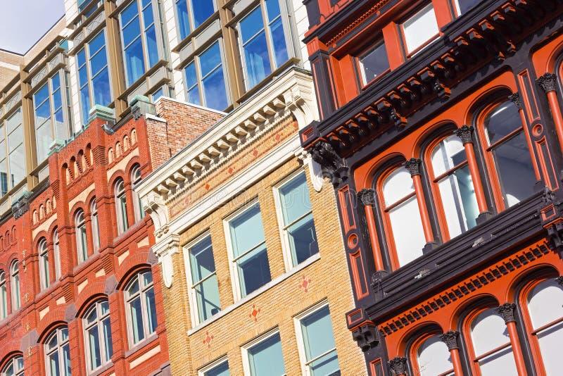 Architektoniczni elementy washington dc budynki fotografia royalty free