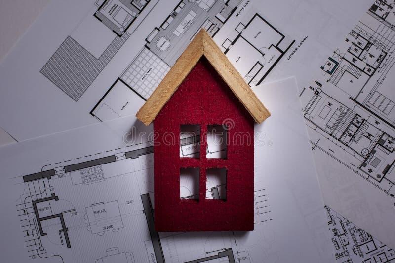 Architektoniczni projekty obraz royalty free