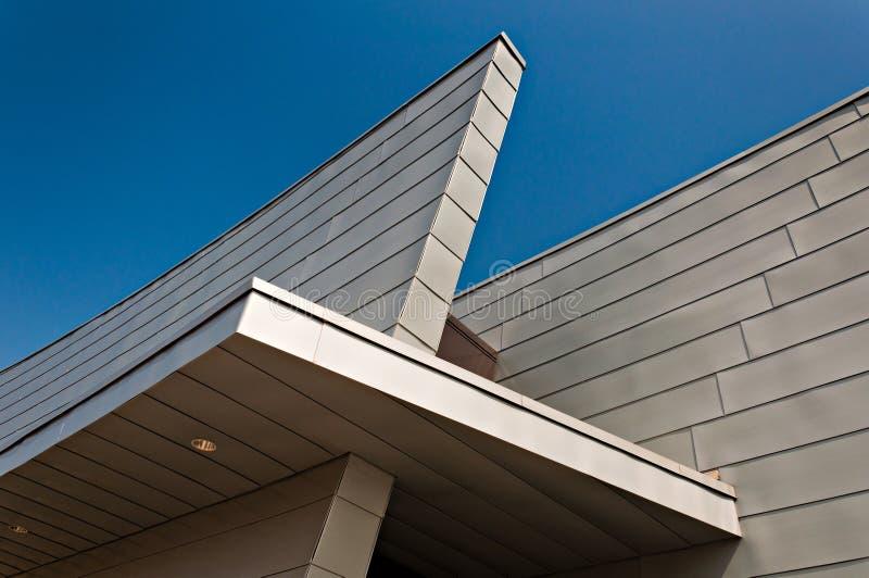 Architektoniczni szczegóły przy nowym gościem Ześrodkowywają przy fortem McHenry, Baltimore, Maryland obraz stock