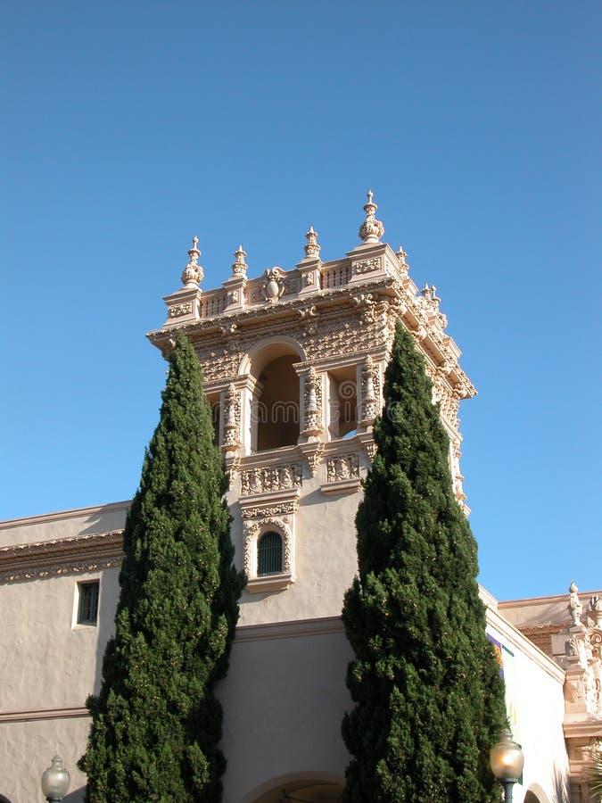 Architektoniczni szczegóły - San Diego CA obrazy royalty free