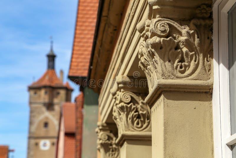 architektoniczny dekoracyjny element obrazy stock
