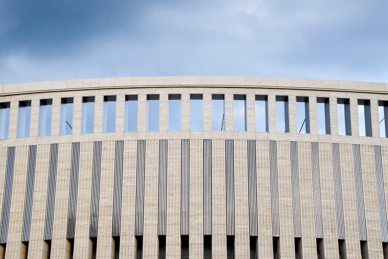 Architektoniczny element, kolumny i łuki budynek, zdjęcia royalty free