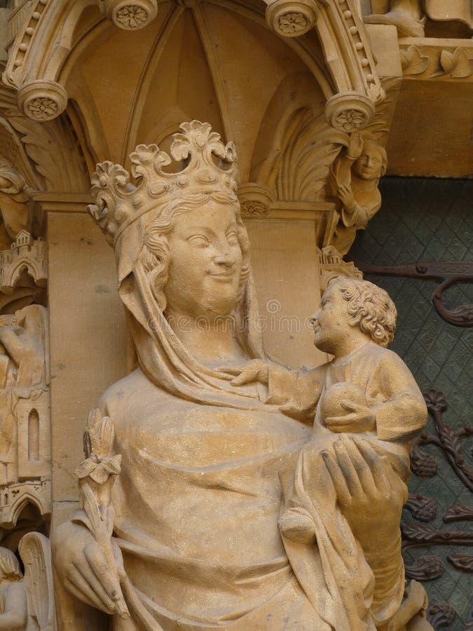 Architektoniczny szczegół katedra zdjęcia stock