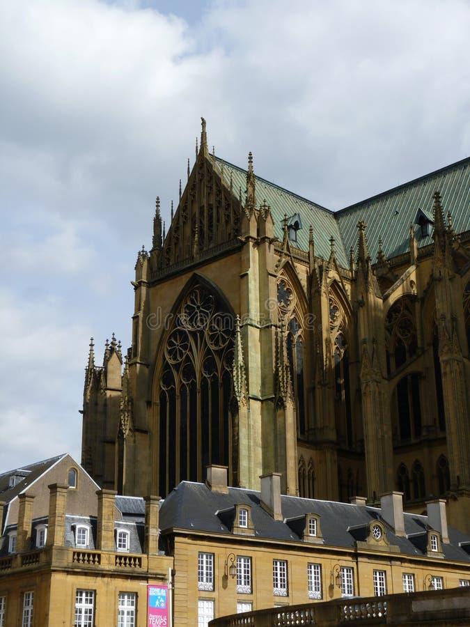 Architektoniczny szczegół katedra obraz royalty free