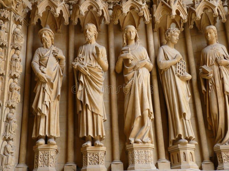 Architektoniczny szczegół katedra zdjęcia royalty free