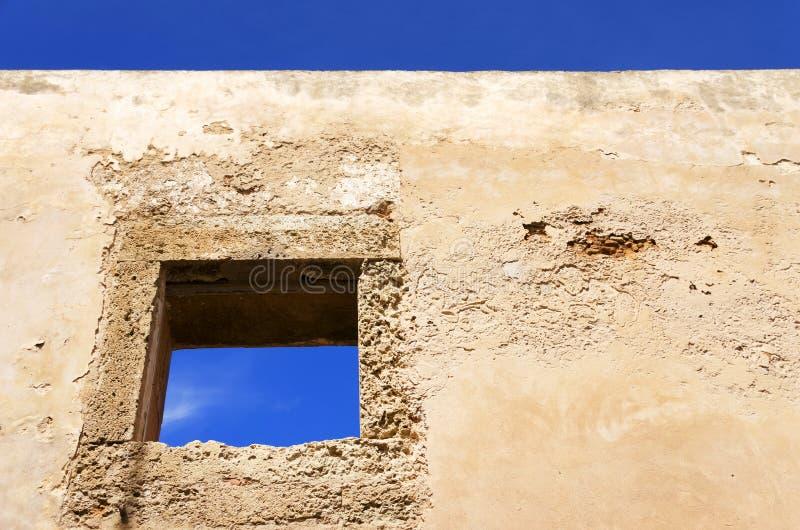 Architektoniczny szczegół Mazagan, El Jadida, Maroko obrazy stock