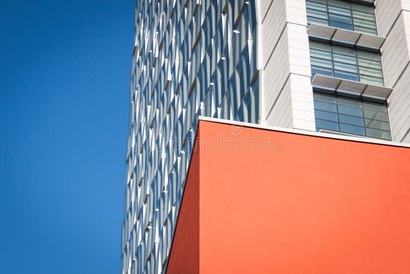 Architektoniczny szczegół nowożytny budynek zdjęcia stock