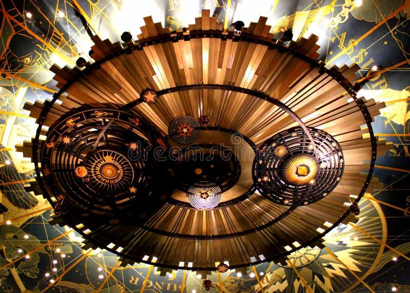Architektoniczny szczegół od forum teatru w Harrisburg, Pennsylwania obrazy stock