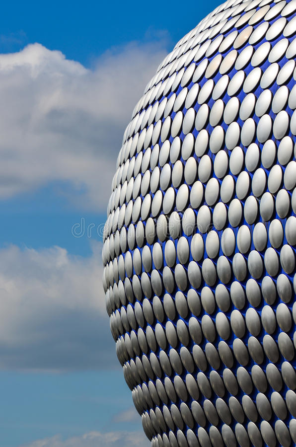 Architektoniczny szczegół Selfridges zdjęcie royalty free