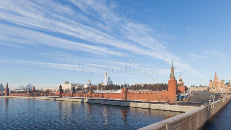 Architektoniczny zespół Kremlin, Moskwa zdjęcie stock