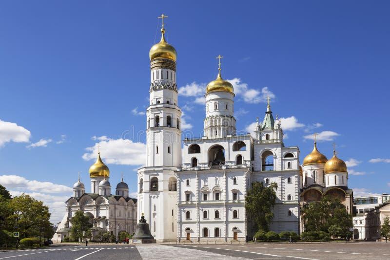 Architektoniczny zespół Moskwa Kremlin obrazy stock