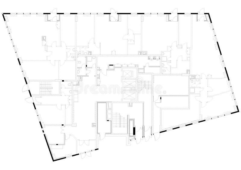 Architektur lizenzfreie abbildung