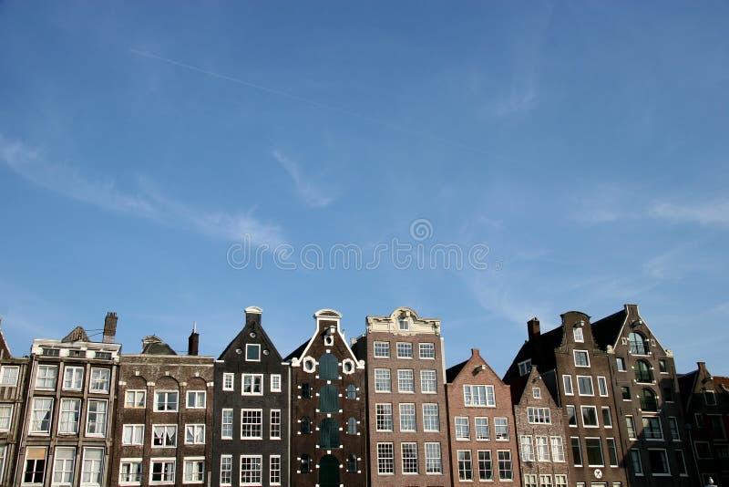 Architektur in Amsterdam lizenzfreies stockfoto