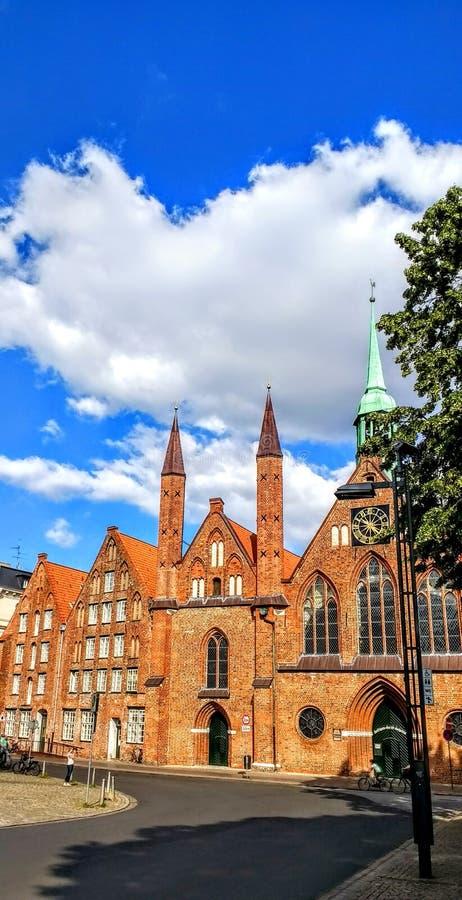 Architektur. Old historical sky vuew stock photo